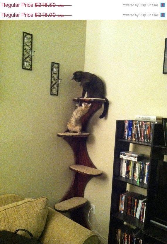 ON SALE Custom Designed Composite Cat Tower by customcatdoors11, $185.73