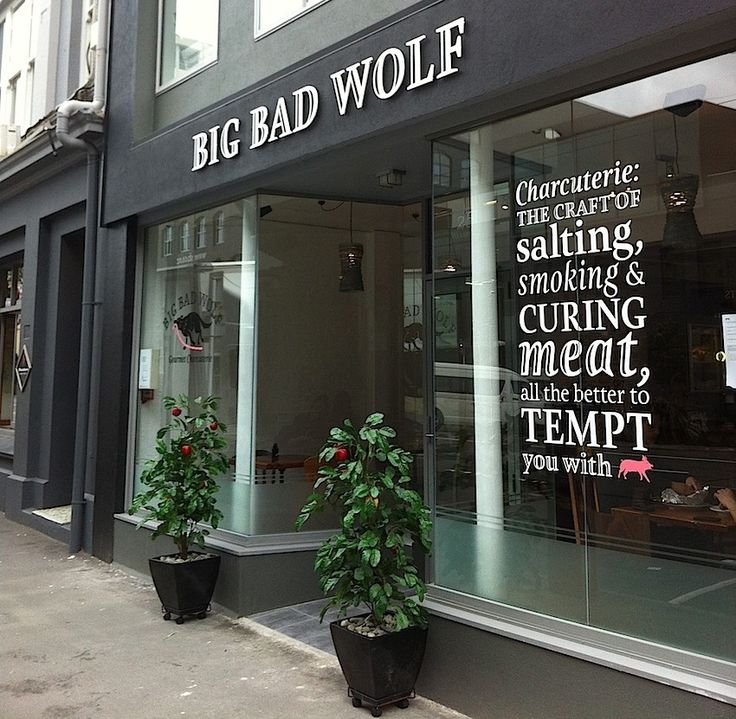 BIG BAD WOLF. Our secret suggestion is the Spit Roast Pork Sandwich. An ideal lunchtime treat with the pork sourced from free range pigs; whether a meat connoisseur or not, a treat not to be missed.