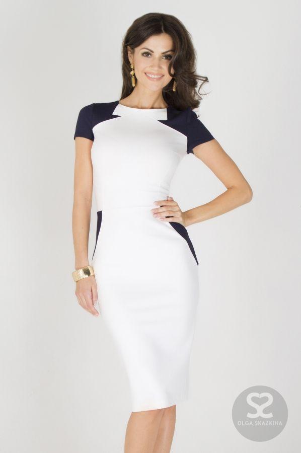 Платье карандаш современного кроя от дизайнера в интернет магазине. | Skazkina