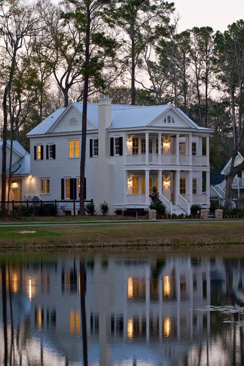 West Pond traditional, Charleston. WaterMark Coastal Homes.