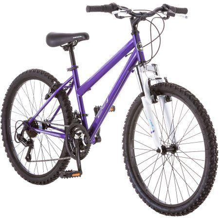 24 inch Roadmaster Granite Peak Girls' Bike, Multiple Colors, Purple