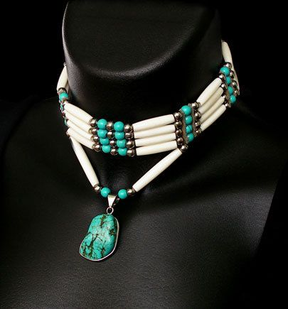 how to make a native american choker