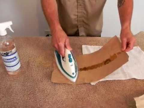 He Gets This Candle Wax Off The Carpet Like MAGIC! - http://www.wisediy.com/he-gets-this-candle-wax-off-the-carpet-like-magic/