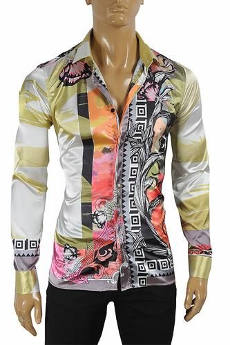 dfb09b994798f3 VERSACE Men's Dress Shirt 179 | Men's fashion in 2019 | Herren mode, Mode