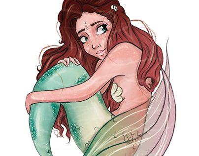 Ilustración: Sirena