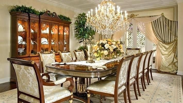 65 Expensive Dining Room Sets Elegant Dining Room Furniture