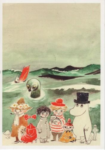 Moomins, by Tove Jansson
