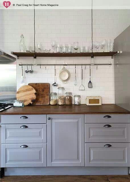 Heart home magazine kitchen