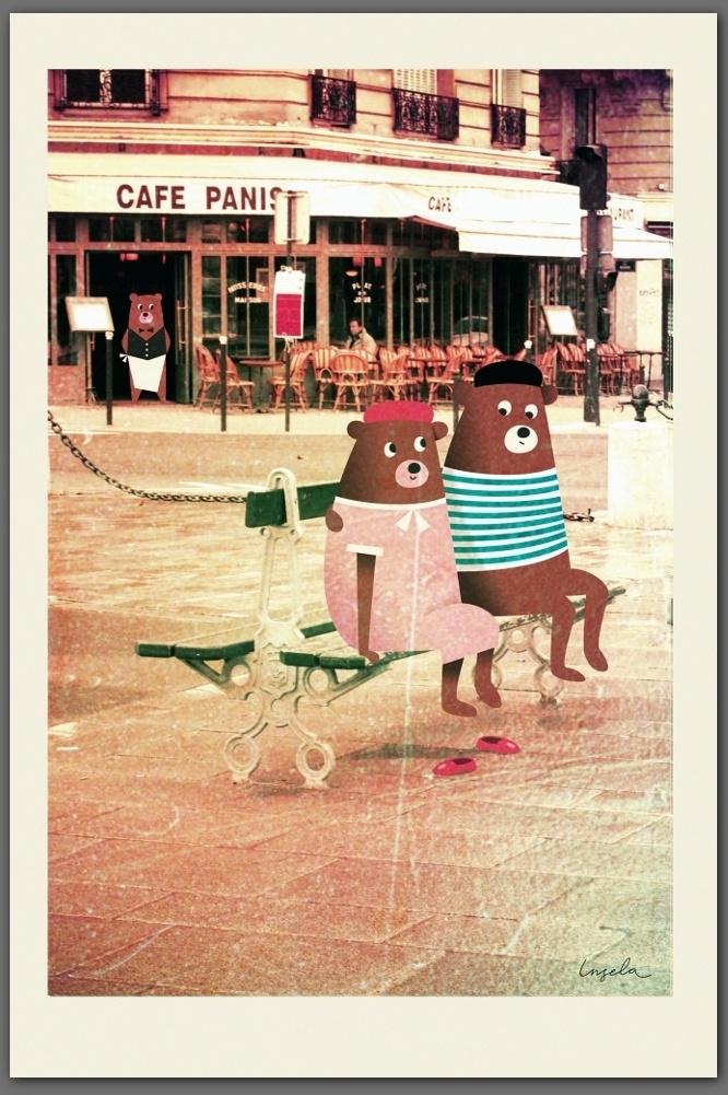 BEARS IN PARIS - INGELA P ARRHENIUS
