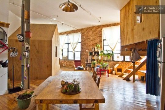 in brooklyn: Spaces, Terry Chiao, Loft Apartment, Brooklyn Apartment, Trees Houses, Interiors Design, Treehouse, New York, Cabins Bedrooms
