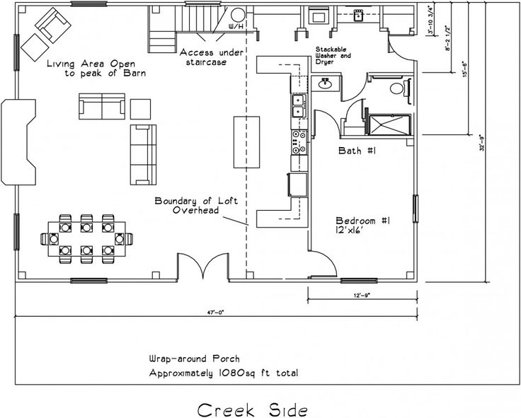 Floor Plan For Barn Cabin Like Some Of The Idea In The
