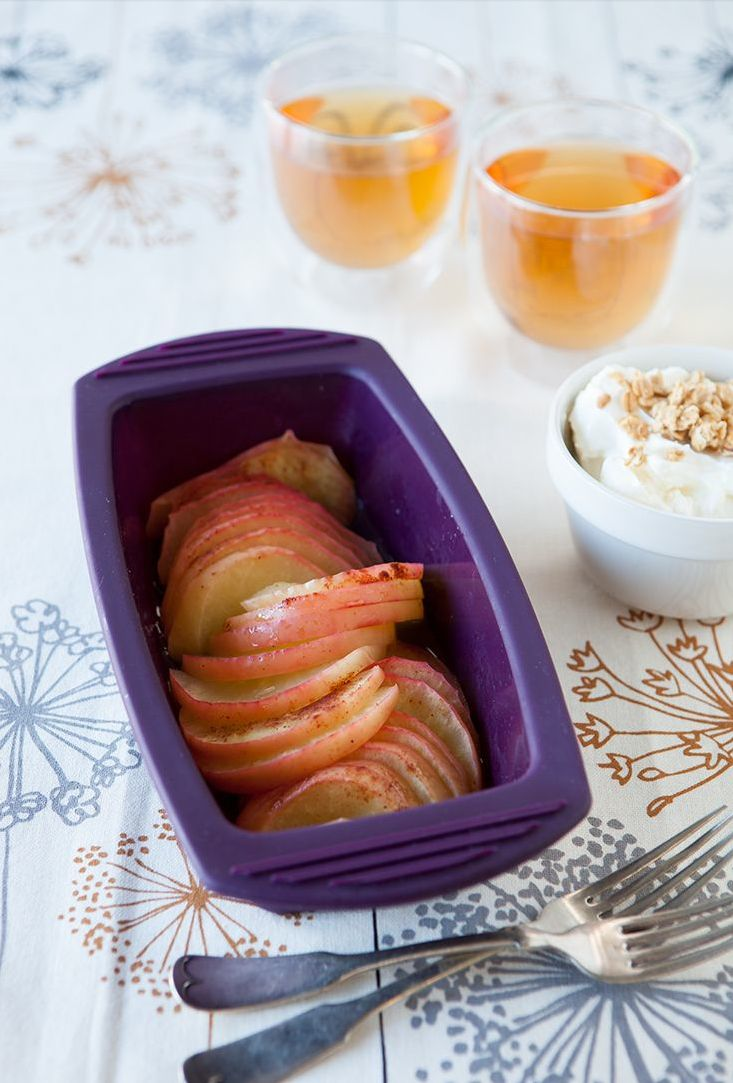 Epicure 5-Minute Crustless Apple Pie