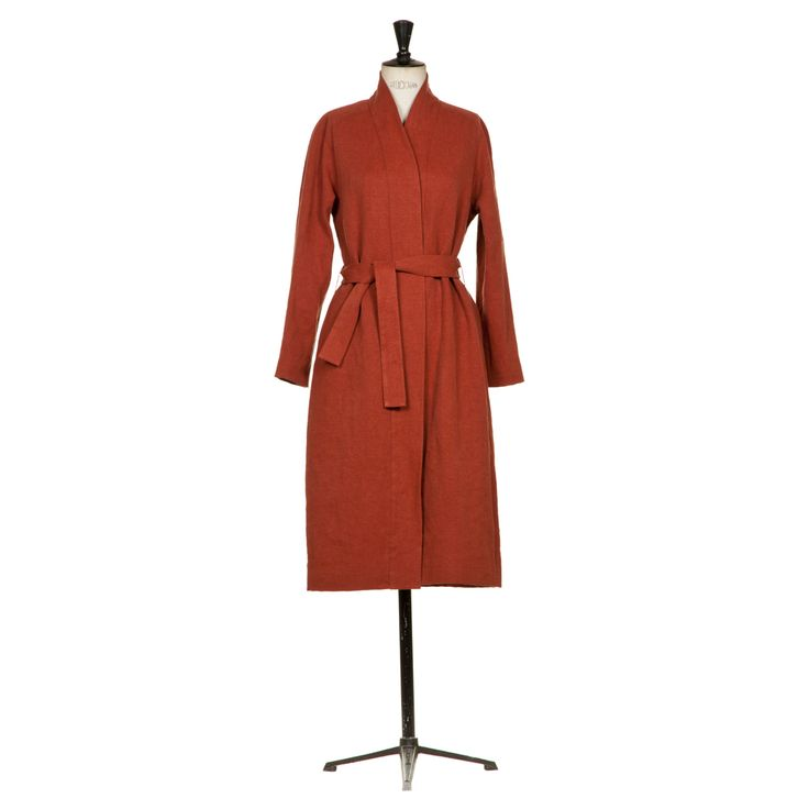 Japanese linen coat | ANNA RUOHONEN Paris