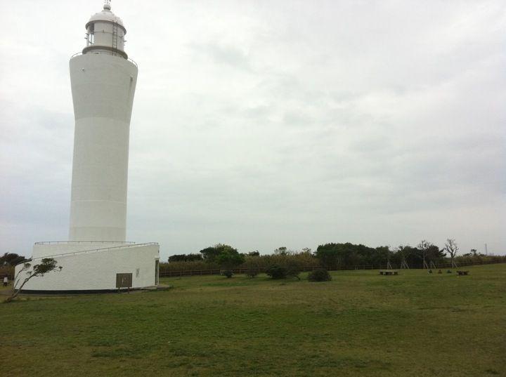 古房地公園 灯台が目印。トイレ、水飲み場有