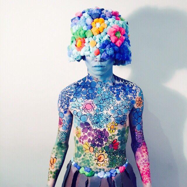 Blossom style I created. #art #airbrush
