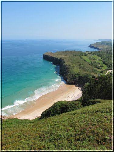 Playa de Andrin Llanes  Asturias  Spain