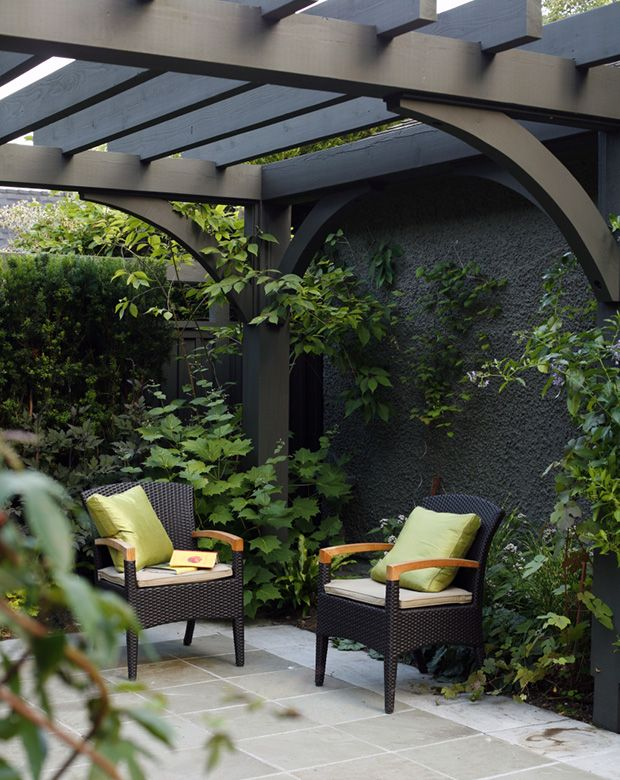 Photos 15 pergolas inspirantes pour l ext rieur for Plan pour patio exterieur