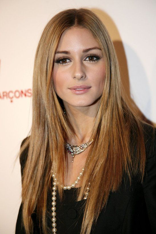 THE OLIVIA PALERMO LOOKBOOK long straight blonde & perfect makeup