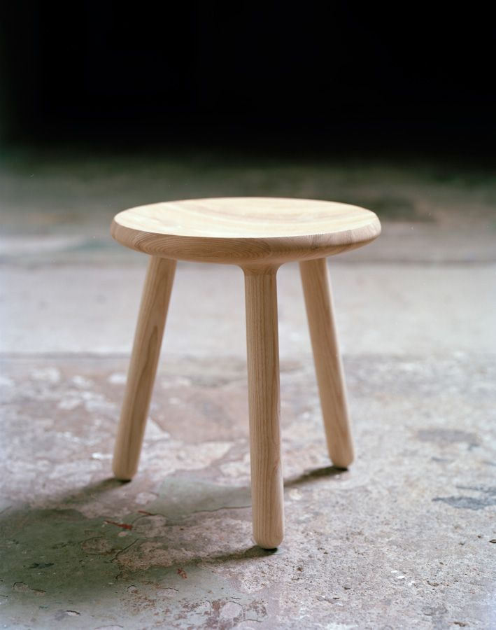 Milk Stool, A Simple Stool With One Foot In The Past And The Other In Design