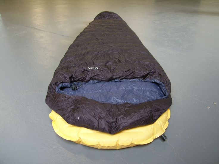 Sleeping: Sleep soundly by investing in a decent sleeping bag. We use this British made PHD Minim Ultra down bag that weighs no more than a can of coke, and is just as tiny! A decent rollmat will stop you leaching heat into the ground. This Thermarest NeoAir is thick and cushy, but packs down small!