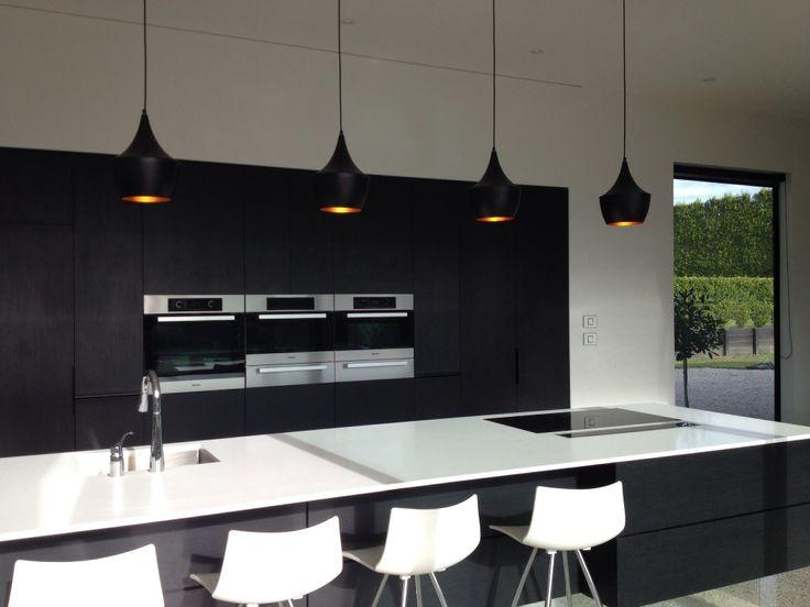 Modern kitchen with hidden scullery