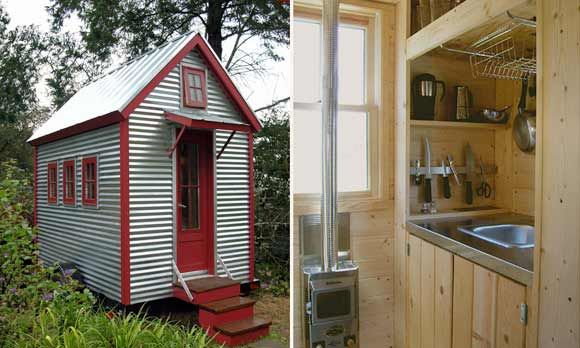 Tumbleweed Tiny House CoCabin Ideas, Smallest House, Metals House, House Blog, Tiny Houses, Trailers House, Small Spaces, Tumbleweed Tiny, Small Homes