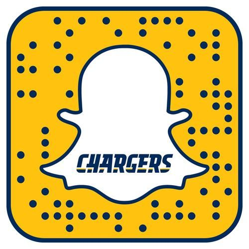 Following the Chargers on Snapchat will give you access to the Chargers Snapchat Story!