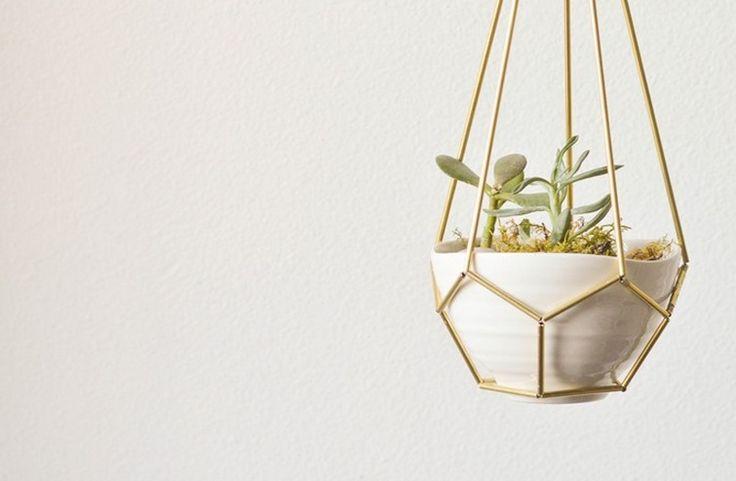 We zijn verliefd op deze plantenhanger: Zo maak je 'm zelf