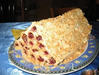 Замороженные фрукты в торте рецепты