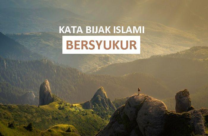 Kata Mutiara Islami Introspeksi Diri Dengan Gambar Islam