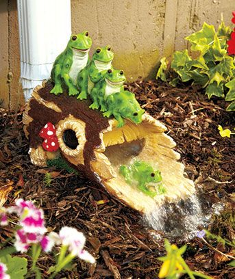 Decorative And Functional, This Downspout Water Slide Directs Water Away  From Your Homeu0027s Foundation,