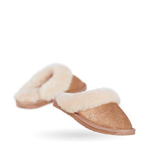 EMU Australia Women's Jolie Slip-On,Charcoal/Anthracite,5 M US