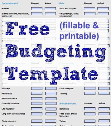 25+ unique Budget forms ideas on Pinterest Monthly budget sheet - budget form