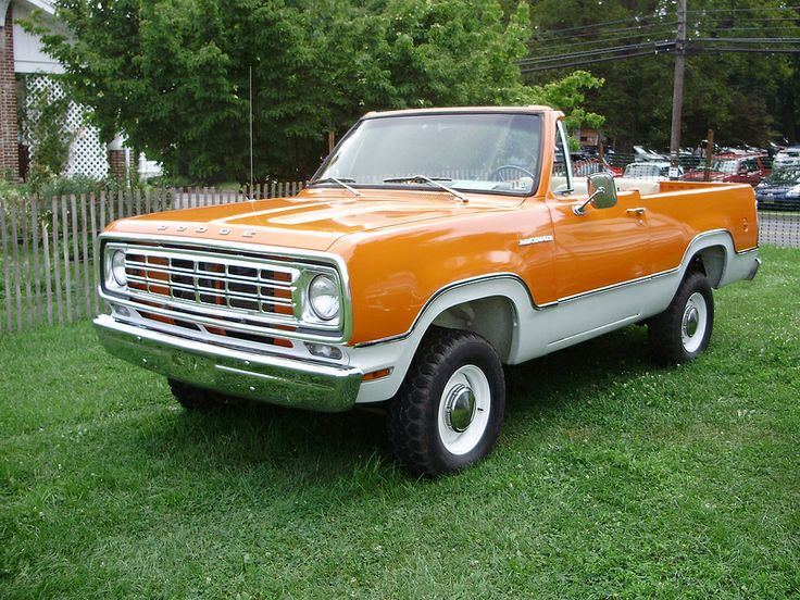 Dodge Ramcharger Pick-Up Truck Convertible