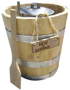 Image result for what is nieve de garrafa