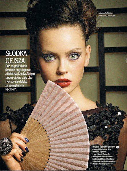 Cosmopolitan September 2012 | Edyta Zając | Robby Cyron