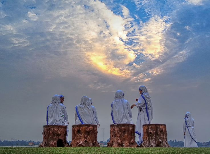 Nuns by Indranil Dutta on 500px