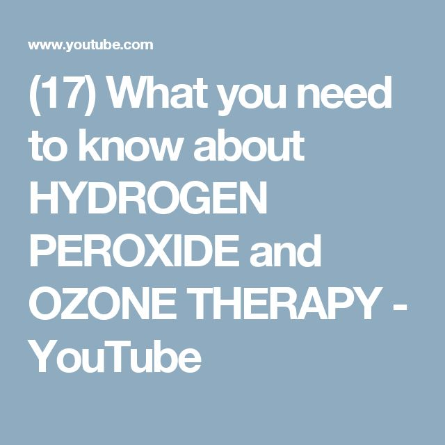 how to make hydrogen peroxide with ozone