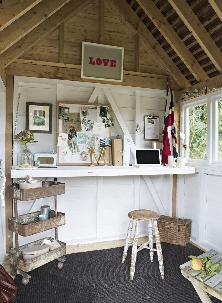 39 besten kleines gartenhaus im gro en stil bilder auf. Black Bedroom Furniture Sets. Home Design Ideas
