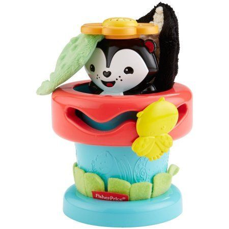 Fisher Price Peek 'n Play Flower Pot, Multicolor
