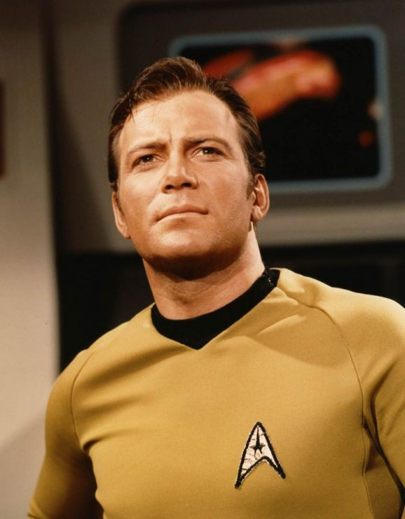 Captain Kirk! My very first love. He's the one responsible for kick-starting my youthful ovaries. Even now, I have a soft spot for William Shatner. Do first loves ever die? Hope not!