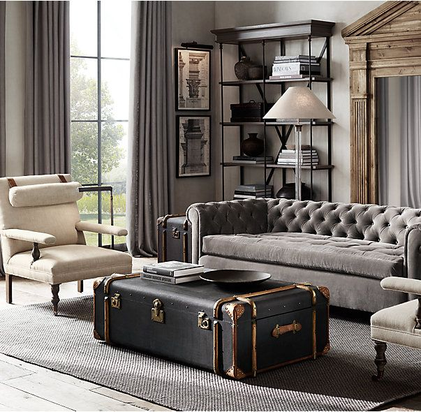Restoration Hardware Richards Trunk Coffee Table: Best 20+ Victorian Coffee Tables Ideas On Pinterest