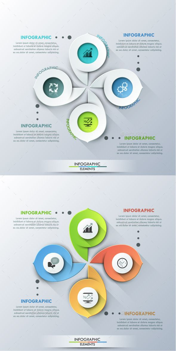 Modern Infographic Cycle Template #design Download: http://graphicriver.net/item/modern-infographic-cycle-template-2-colors/11725879?ref=ksioks