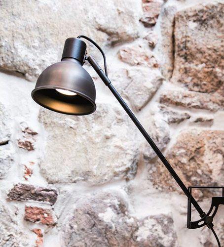 Design Tischlampe in oxid - Tischleuchte Magnum 2.0 LED dimmbar Hergestellt in Schweden von Belid - hier im #KONTOR1710