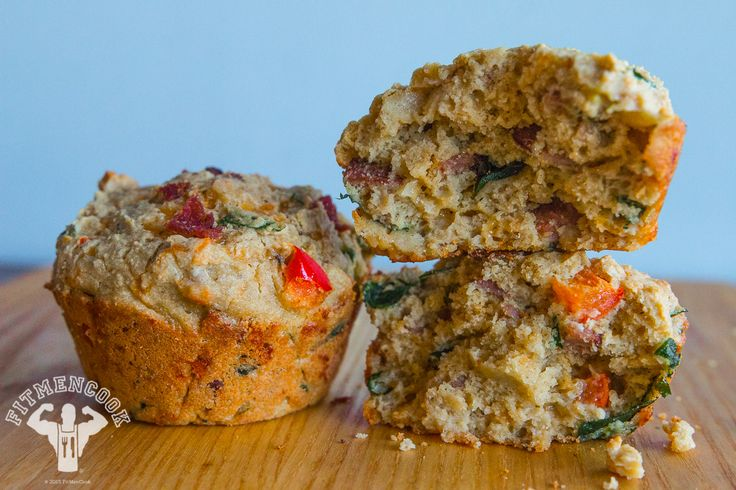 Egg, Turkey, Oat, Spinach- As constructed - Servings 1 muffin - 179 calories - Fat 8g, Carb 15g (Fiber 2g) Protein 13g