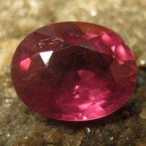 Purplish Pink Rhodolite Garnet 1.30 carat