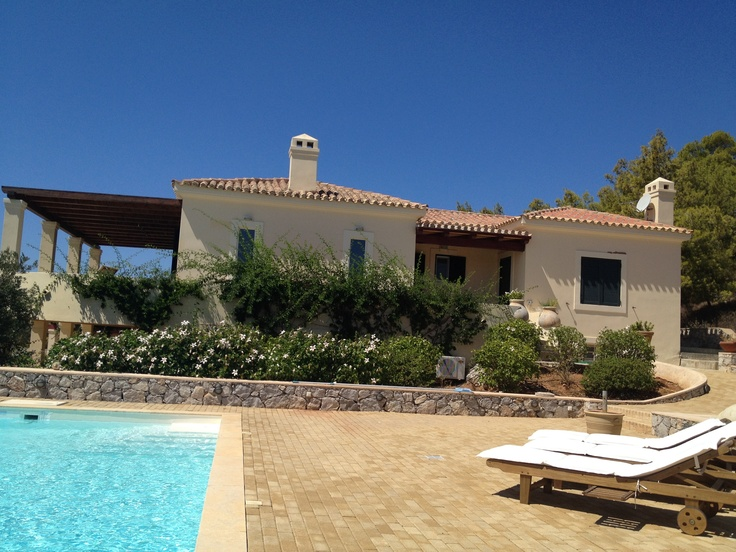 Very private and very tastefully decorated villa in Porto Heli