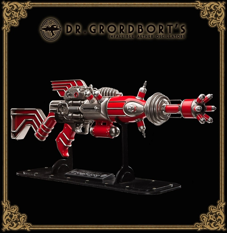WETA: Dr. Grordbort's POMSON 6000 - SO BEAUTIFUL!!!