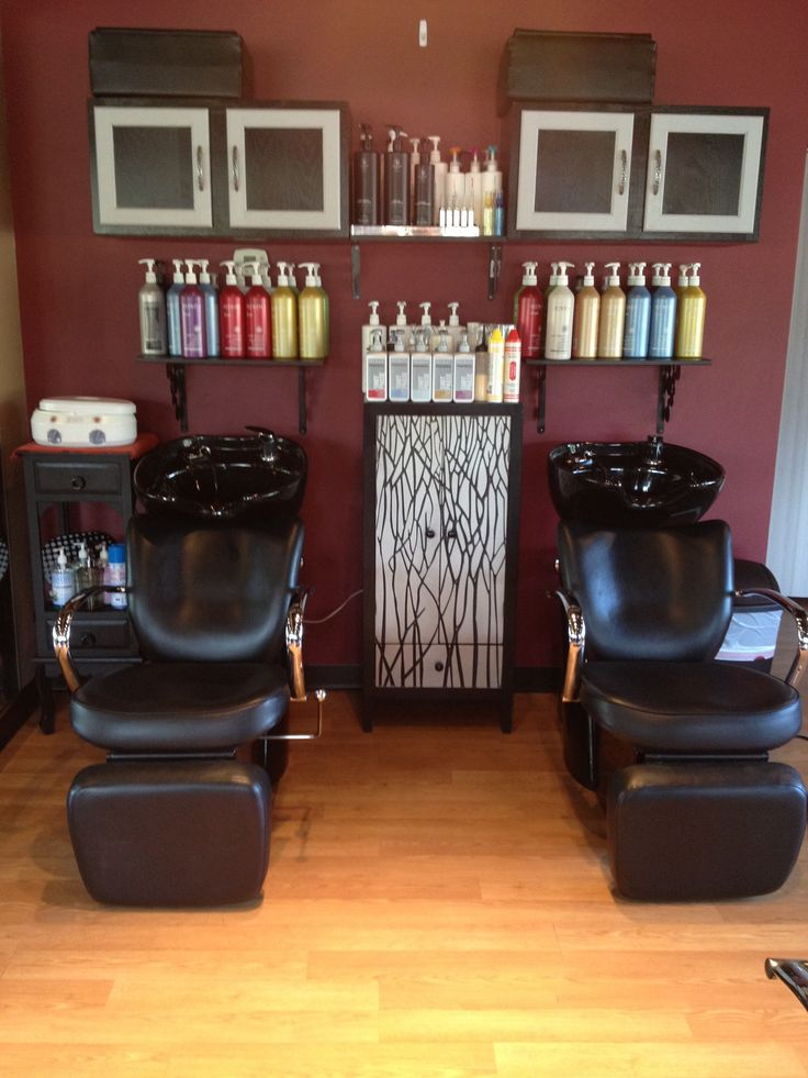 Back wash area! Best seat in the house! #salon