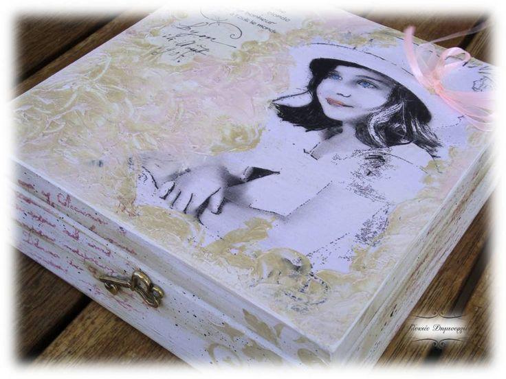 Decoupage Jewelery Box